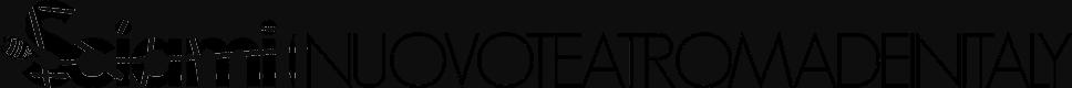Logo Sciami|nuovoteatromadeinitaly