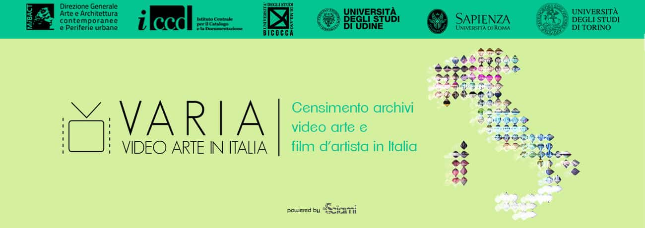 VARIA - Video ARte in ItaliA, censimento archivi video arte e film d'artista