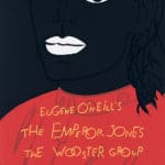Sciami|ricerche - antropologia teatrale - The Wooster Group. The emperor Jones. Poster. Print by Alex Katz.