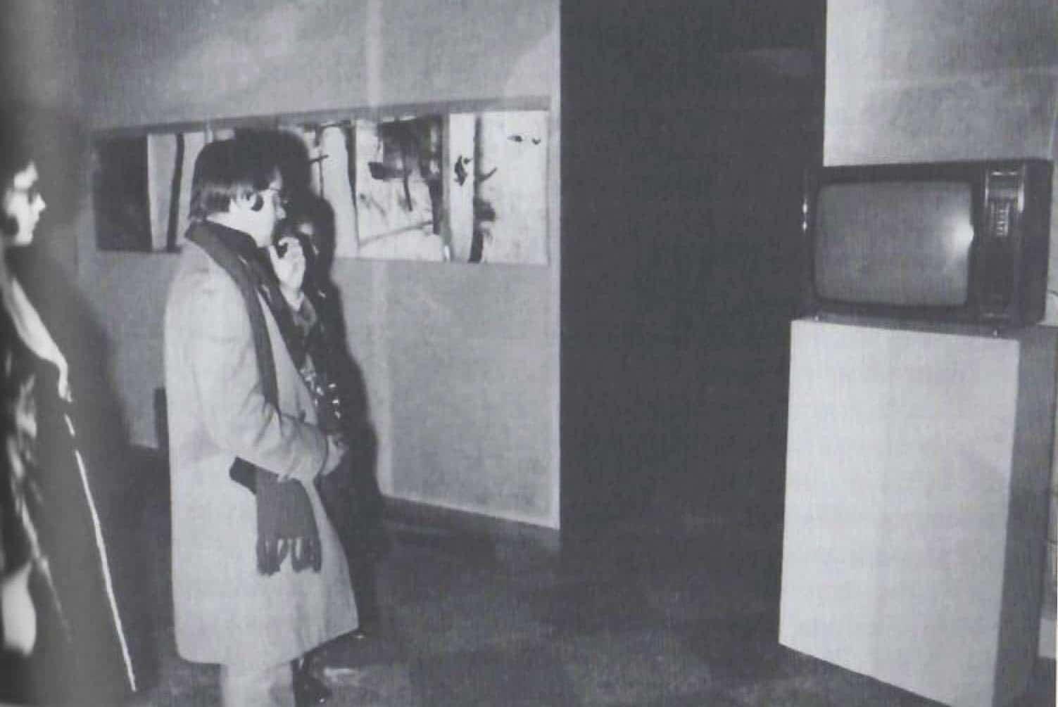 Terza Biennale Internazionale della Giovane Pittura, <em>Gennaio 70. Comportamenti, progetti, mediazioni</em>, Museo Civico Archeologico, Bologna, gennaio 1970. Archivio fotografico Musei Civici d'Arte Antica, Istituzione Bologna Musei