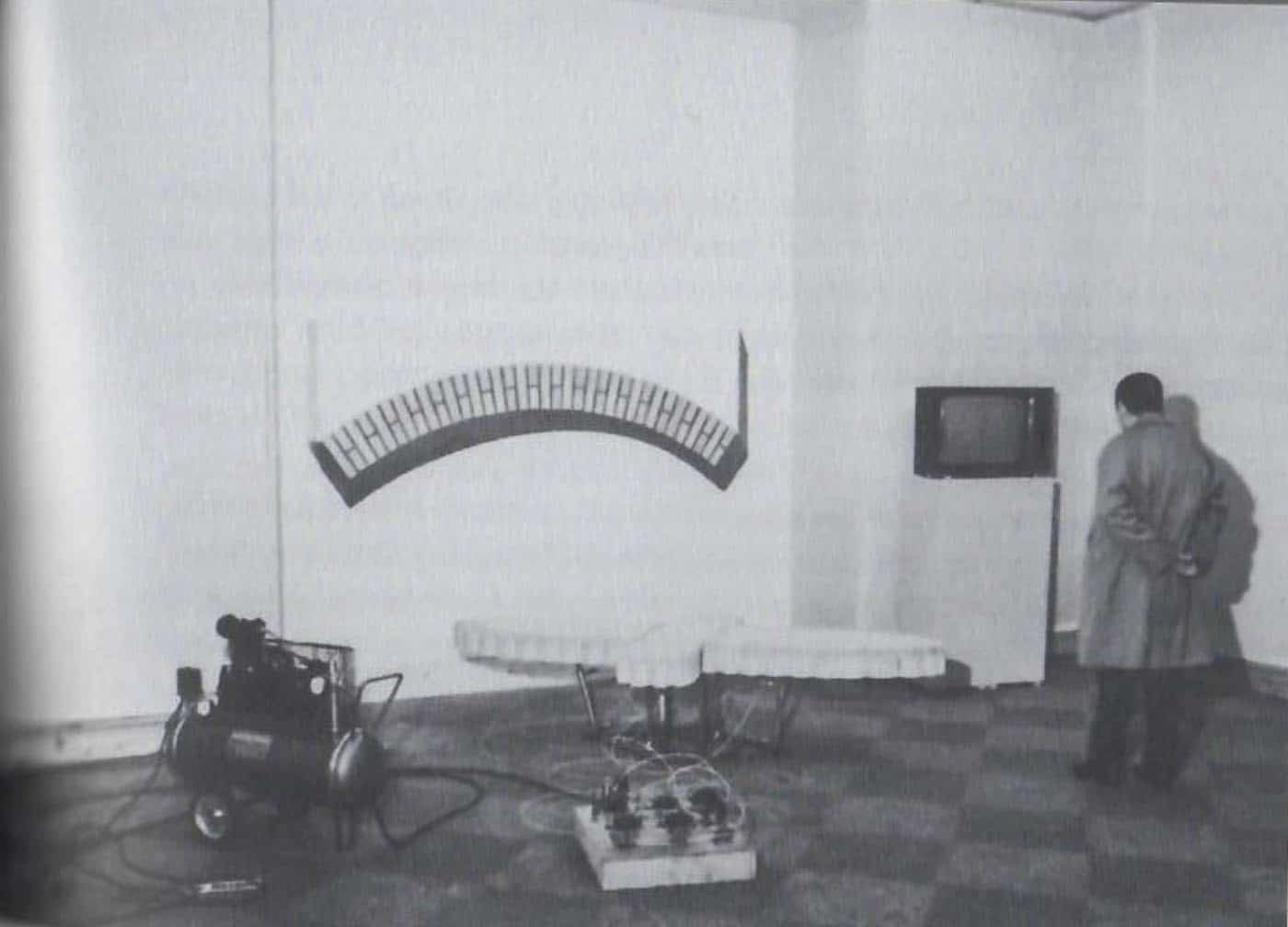 The Third International Biennial of Young Painting, January 70. Behavior, projects, mediations , Museo Civico Archeologico, Bologna, January 1970. Photographic Archive of the Civic Museums of Ancient Art, Bologna Museums Institution