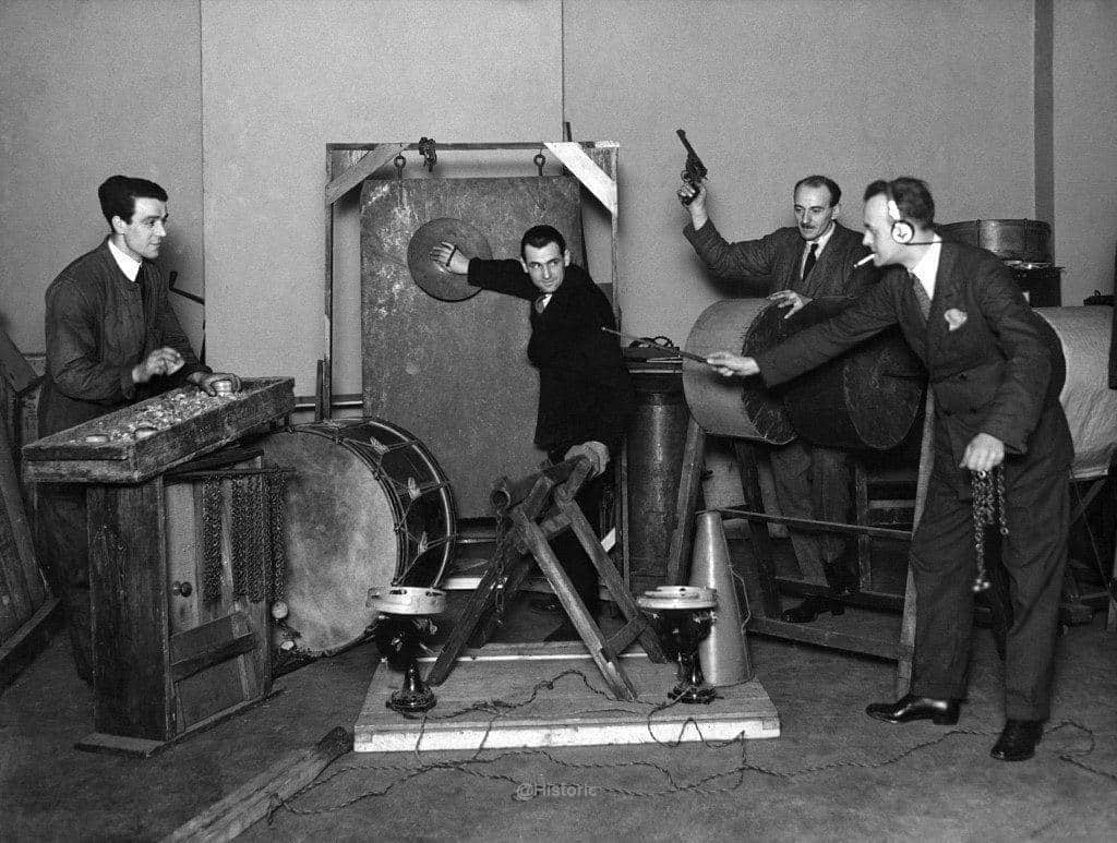 BBC Sound Effects Department (1927)