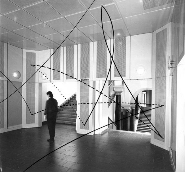 Bernhard Leitner, TON-RAUM TU BERLIN, Berlin, 1984