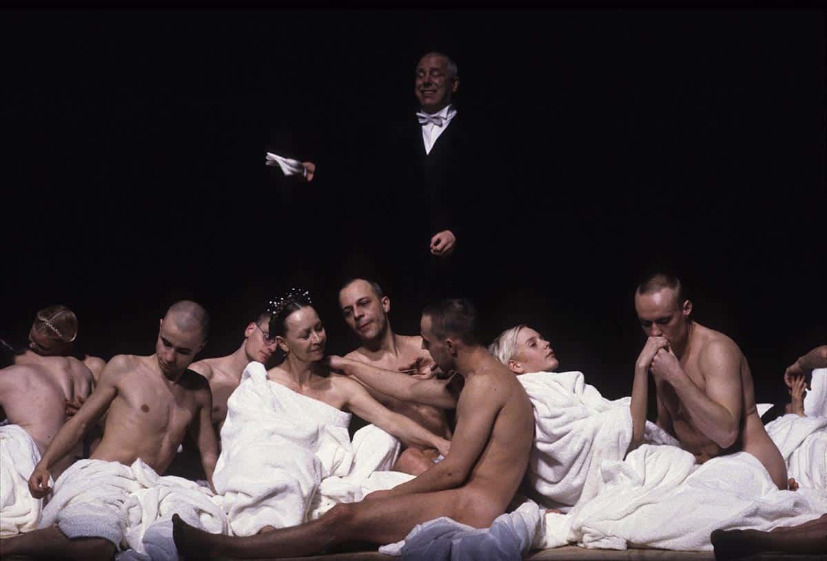 Bertolt Brecht, <em>Il signor Puntila e suo servo Matti</em>, regia di Einar Schleef, 1996