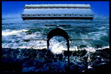 Bill Fontana, Sound Island, copertina del cd audio realizzato a partire dalle registrazioni, Parigi, 1994