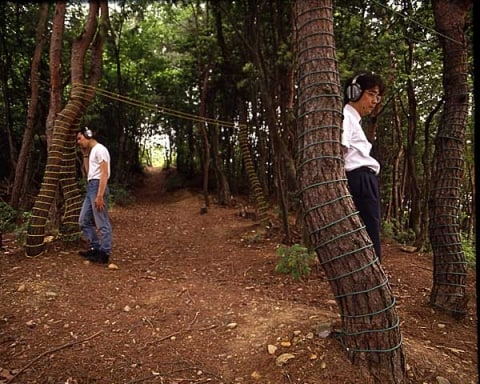 Christina Kubisch, Music Between Parallel Wires, Japan, 1991