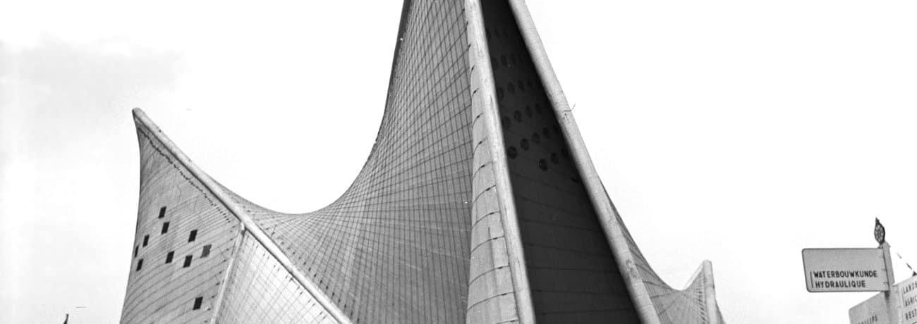 Le Corbusier, Iannis Xenakis, Edgar Varèse, Poème Électronique, Philips Pavilion, International Exhibition in Brussels, 1958
