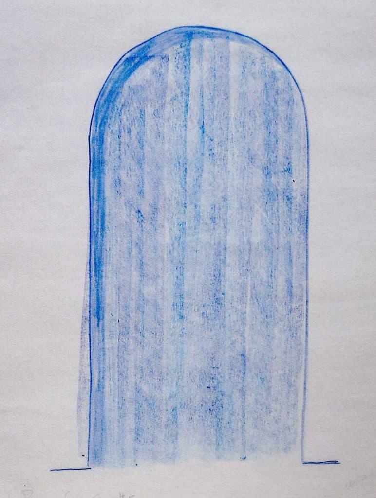 Max Neuhaus, Untitled, disegno, Rivoli, 1995