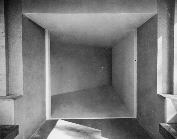 Michael Asher, Installazione al Pomona College, Claremont, California, 1970
