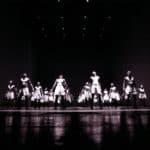 Premiere di Sportstück, 1998 al Burgtheater di Vienna. Foto di Andreas Pohlmann
