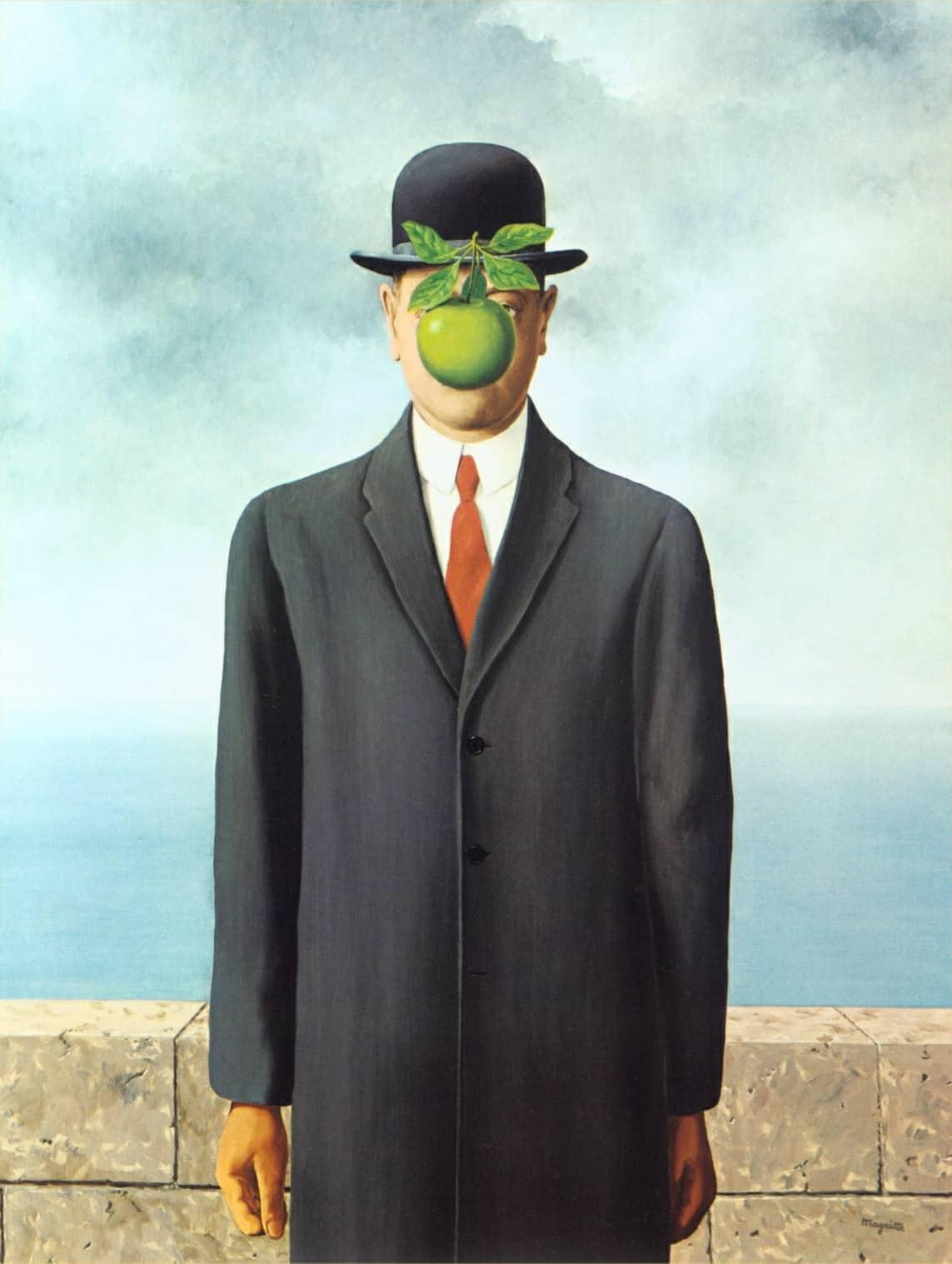 René Magritte: Il figlio dell'uomo (1964)