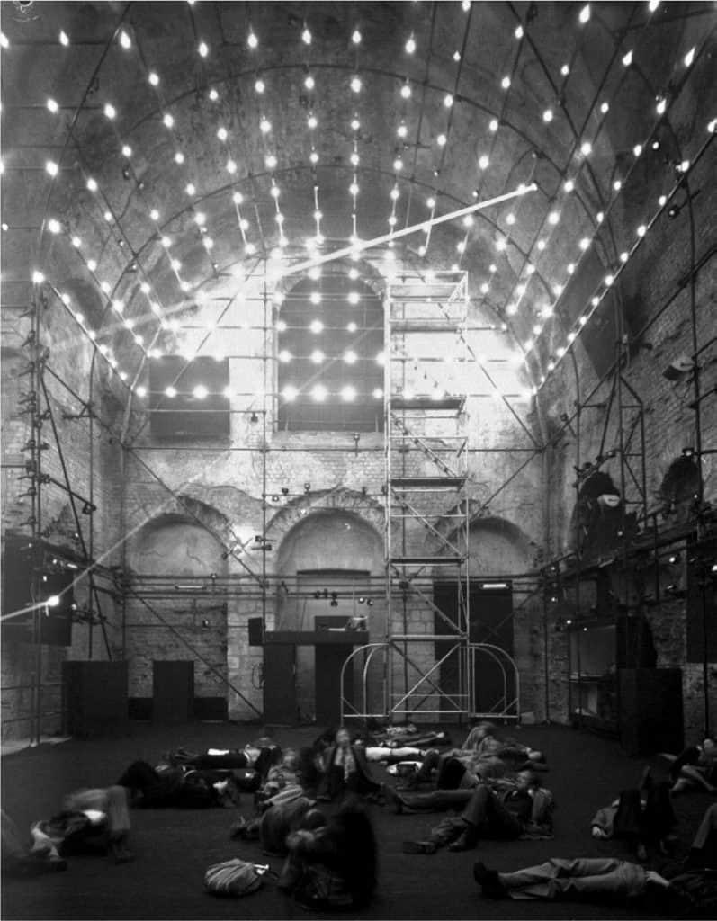 Iannis Xenakis, Polytope, Baths of Cluny, 1972