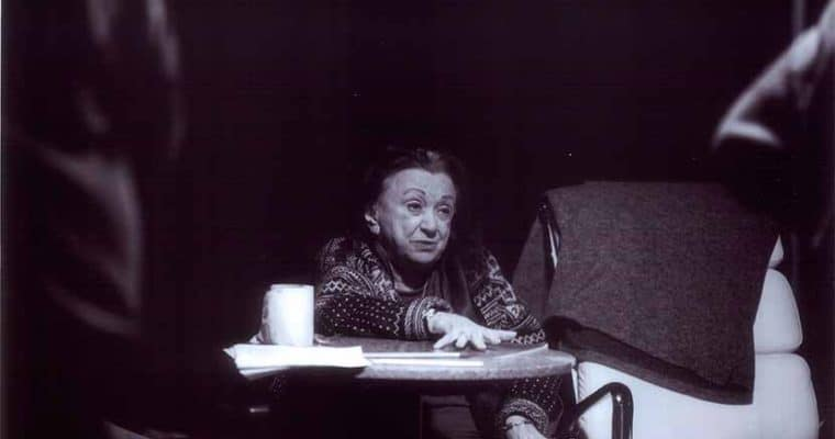 Judith Malina. Photo by Letizia Mariotti. Courtesy Thomas Walker / Living Theater
