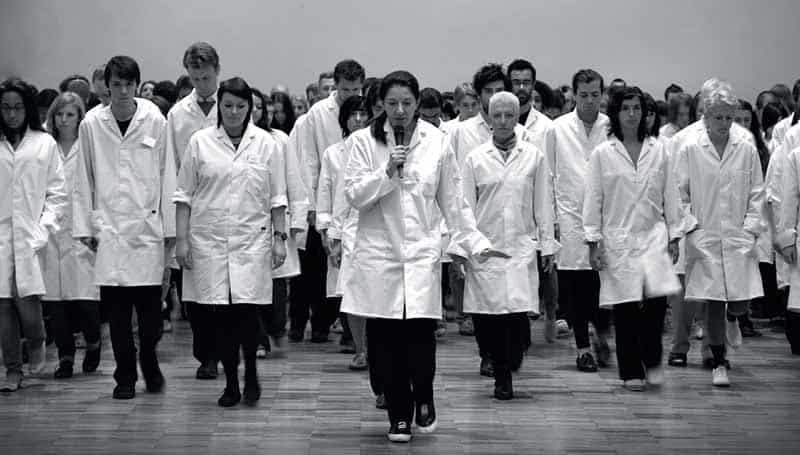 Marina Abramovic Institute, slow walk