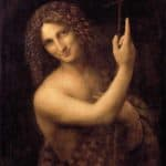 Leonardo da Vinci, Saint John the Baptist (painted between 1508 and 1513)