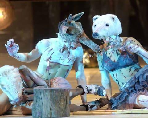 Teatro Valdoca. Paesaggio con fratello rotto. 2005. ©foto Paolo Rolando Guerzoni.
