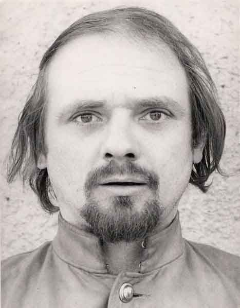 Antoni Jahołkowski, primi anni Settanta. Foto di Andrzej Paluchiewicz.