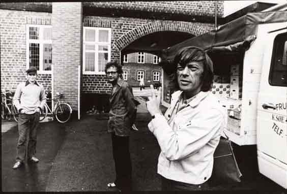 Stanisław Scierski, Jerzy Grotowski e Ryszard Cieślak a Holstebro,1971. Foto di Andrzej Paluchiewicz.