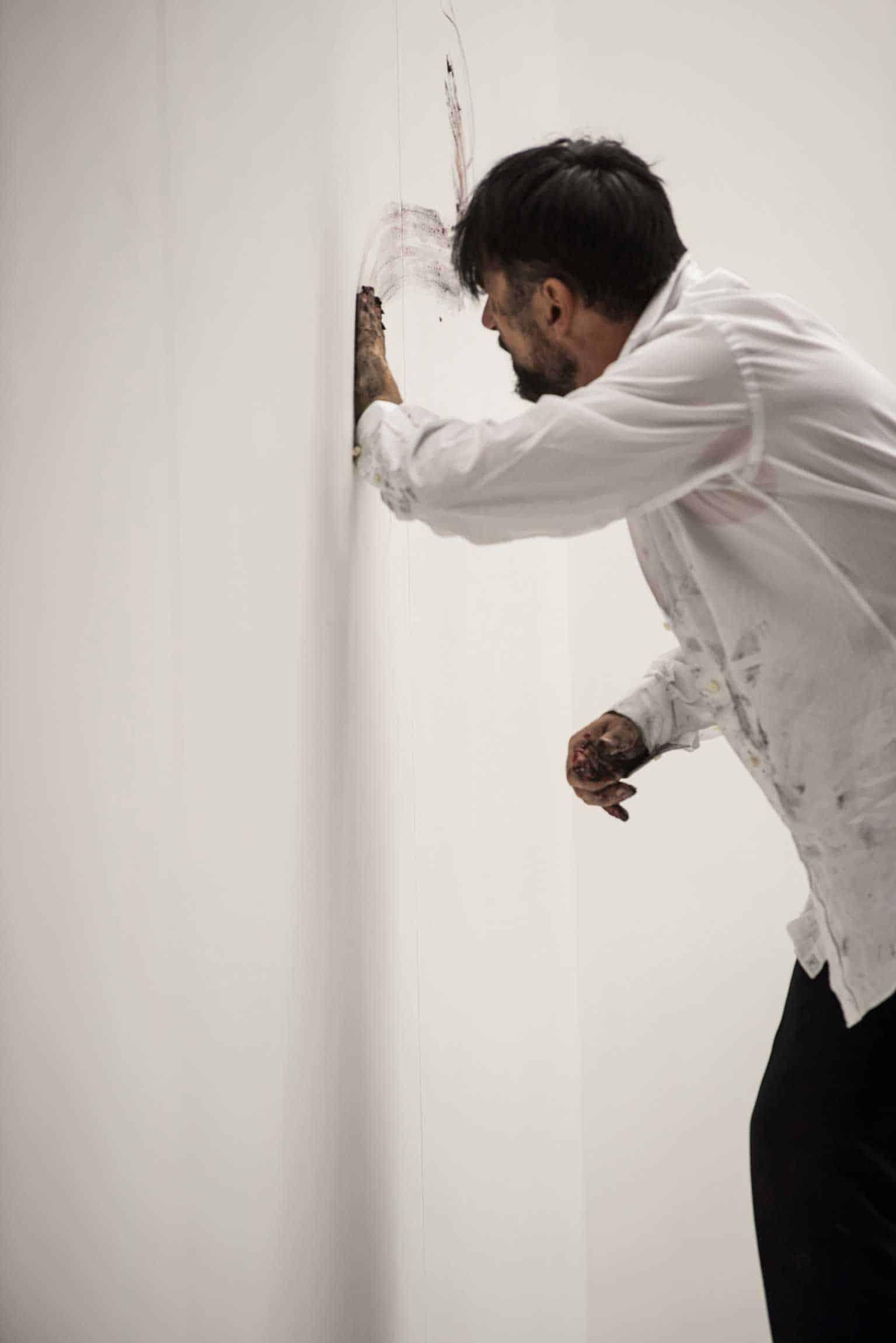 Ayad Akhtar, «Disgraced», regia di Martin Kušej, 2017. Teatro Carignano di Torino. Paolo Pierobon.