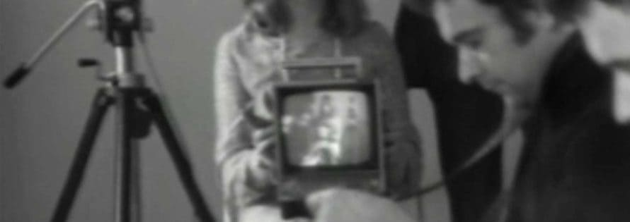 Jean Otth, «Portrait de Laura Papi», 1975, Video Still. Archivio Storico delle Arti Contemporanee, Fondazione La Biennale di Venezia.