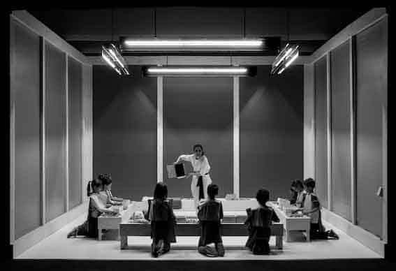 Chiara Guidi, «Fiabe giapponesi», Teatro Comandini di Cesena. Foto di Nicolò Gialain.