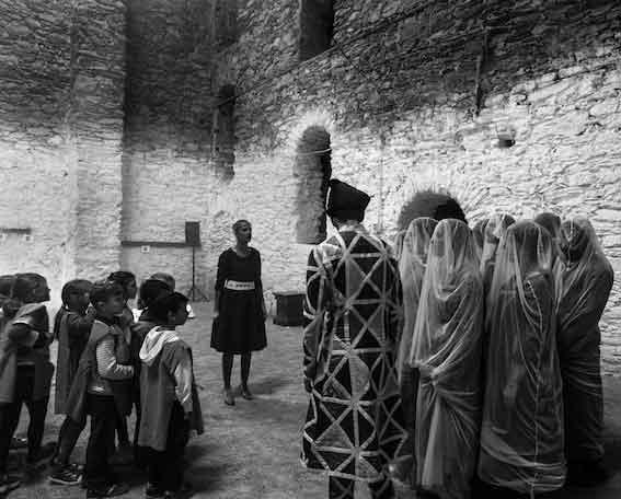 Chiara Guidi, «La terra dei lombrichi», Magazzini del sale di Genova. Foto di Nicolò Gialain.