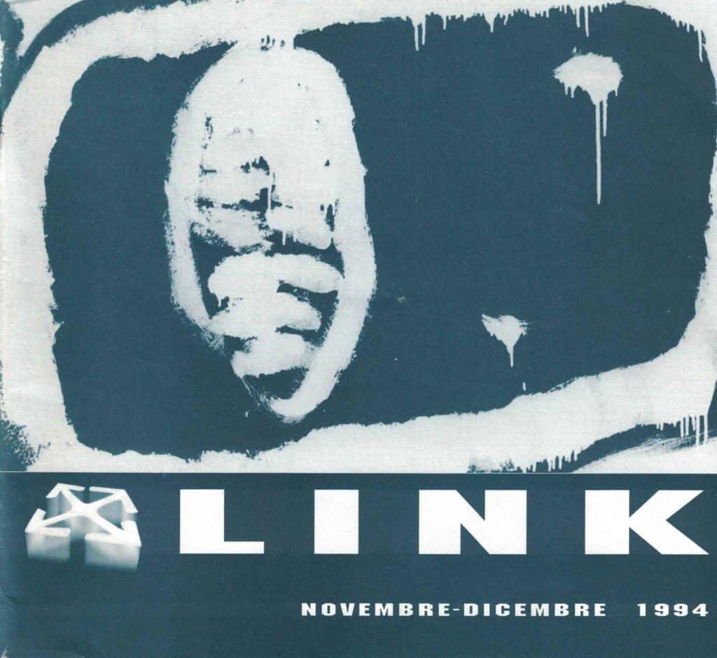 Copertina Catalogo «Link», 1994