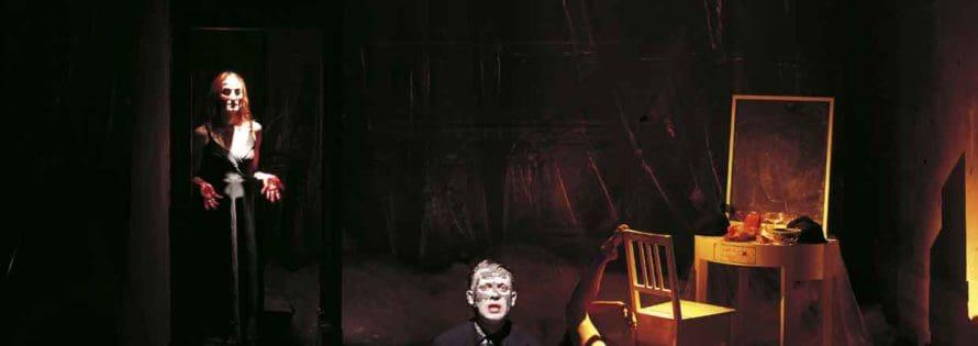 «Macbetto o la chimica della materia», dal testo di Giovanni Testori, regia di Roberto Magnani, foto di Federico Buscarino.