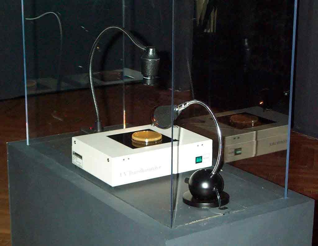 Eduardo Kac, Genesis, Ars Electronica 1999, foto di Dave Pape, Wikimedia Commons.