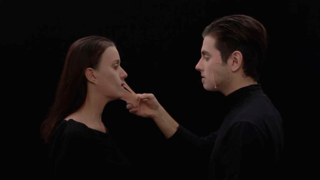Francesca Leoni e Davide Mastrangelo, Person-A, still frame da video.