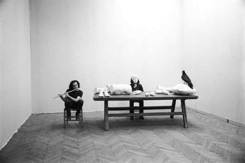 Jannis Kounellis, Senza titolo, 1972, foto di Elisabetta Catalano, Archivio Elisabetta Catalano.