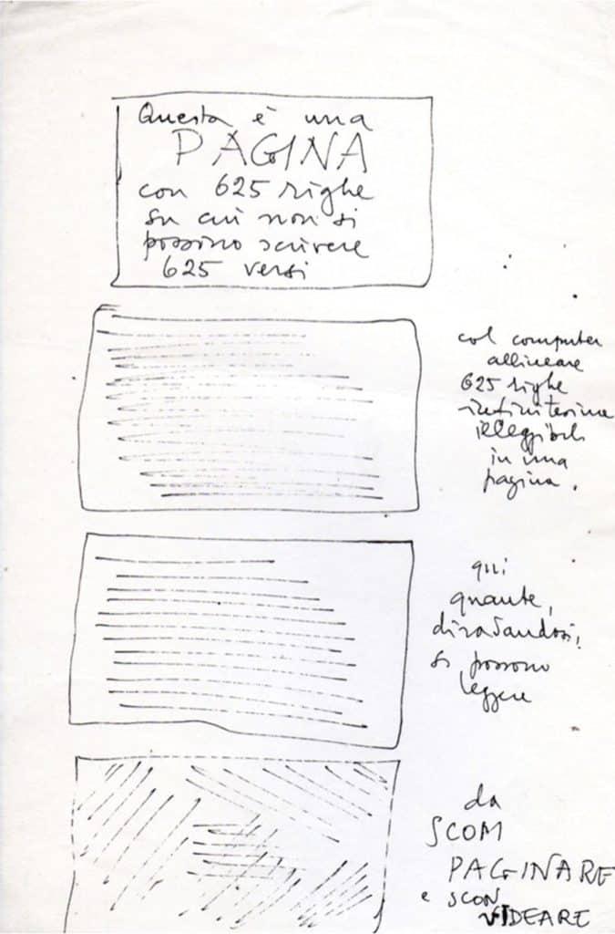 Gianni Toti, fogli sparsi di poesia, s.d., Roma, La Casa Totiana - Poetronicart, Fondo Gianni Toti