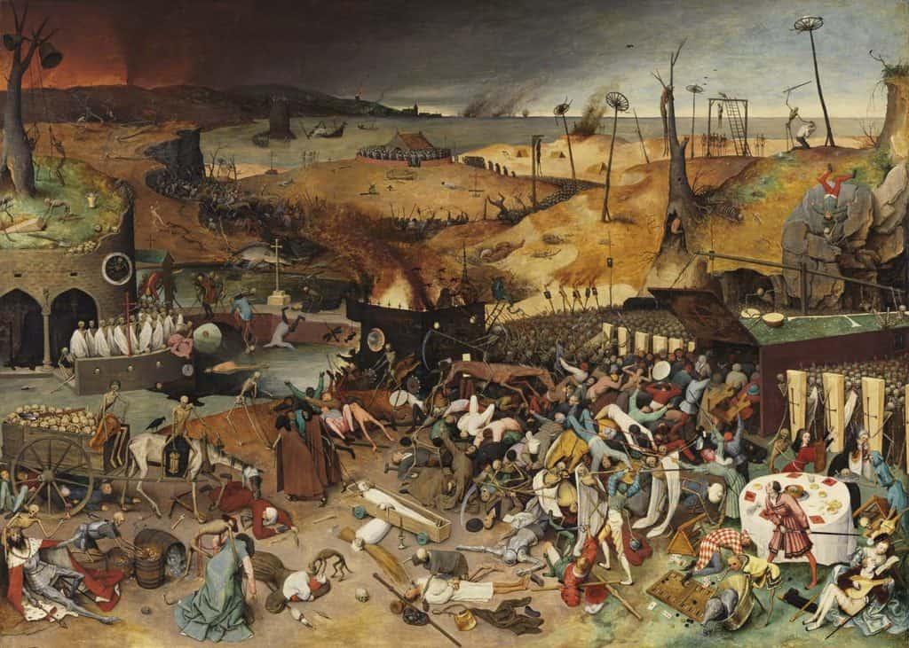 Pieter Bruegel il Vecchio, Trionfo della Morte, 1562.