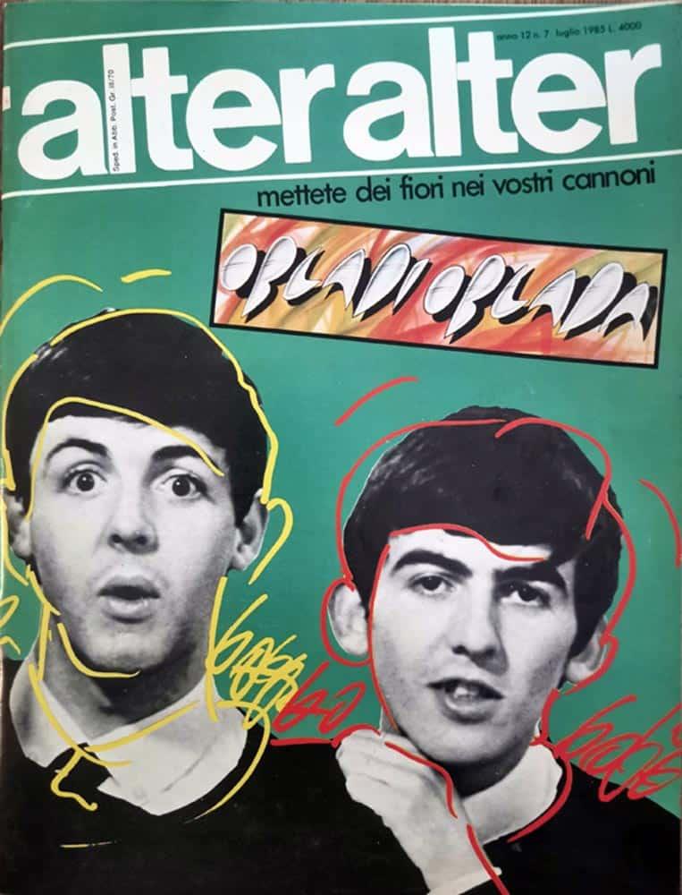 Copertina «alter alter», luglio 1985