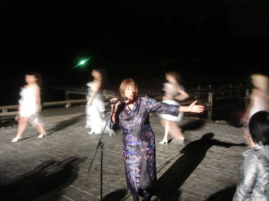 Anna Wirz-Justice in occasione dell'<em>Eri Matsui Fashion Show</em> 2012.