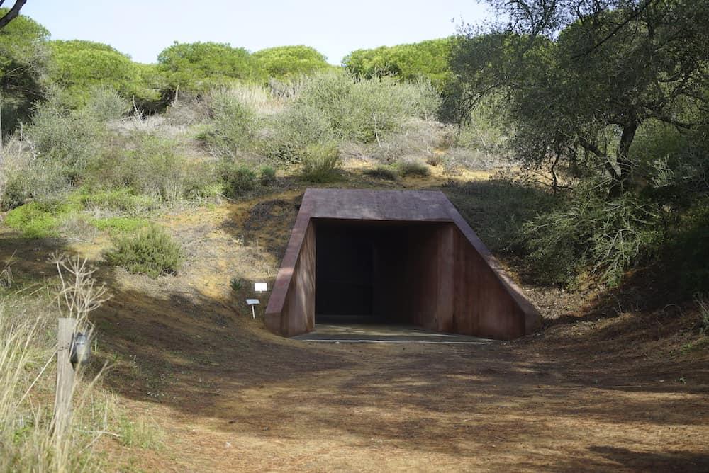 James Turrell, <em>Second Wind</em>, 2005-2009, Fundación NMAC, Vejer de la Frontera, Spagna, foto Charlotte Beaufort.