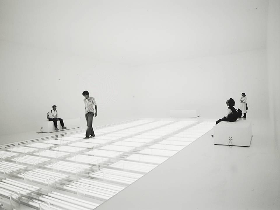 """Philippe Rahm & Giles Décosterd, <em>Hormonarium """"Physiological Architecture""""</em>, Padiglione Svizzero, Biennale di  Architettura di Venezia 2002."""