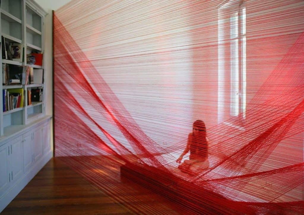 Romina De Novellis, <em>La Veglia</em>, collezione privata, foto Mauro Bordin, Parigi, 2011.