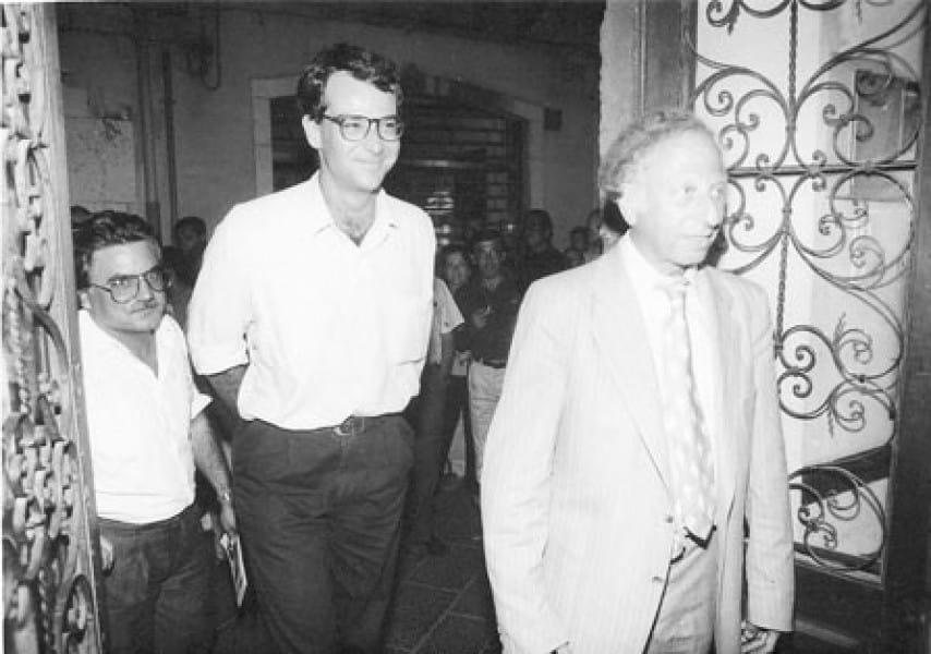 Giorgio Maragliano, Andre Jacob, 1988. Rassegna internazionale video d'autore. Taormina.