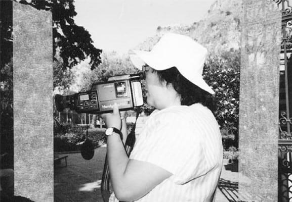 Shigeko Kubota, 1990. Rassegna internazionale video d'autore. Taormina.