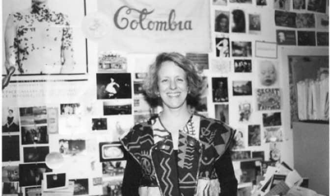 Barbara London, 1987. Rassegna internazionale video d'autore. Taormina.