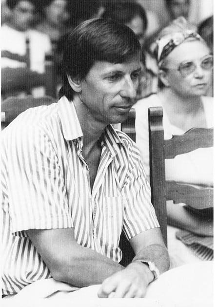 Gerard Viennot, 1988. Rassegna internazionale video d'autore. Taormina.