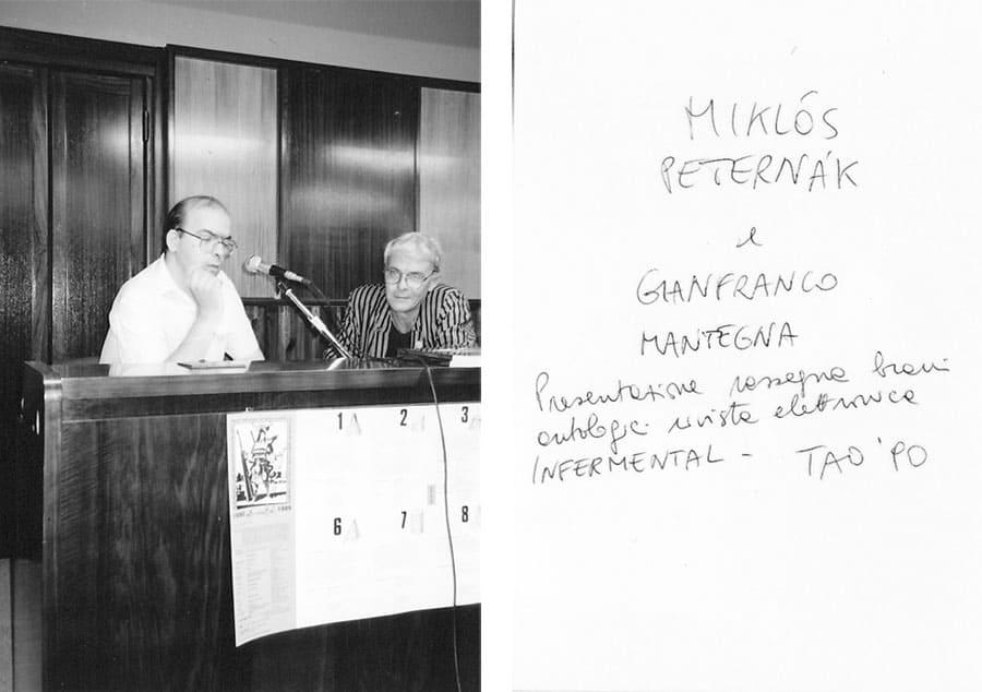 Miklos Paternak e Gianfranco Mantegna, 1990
