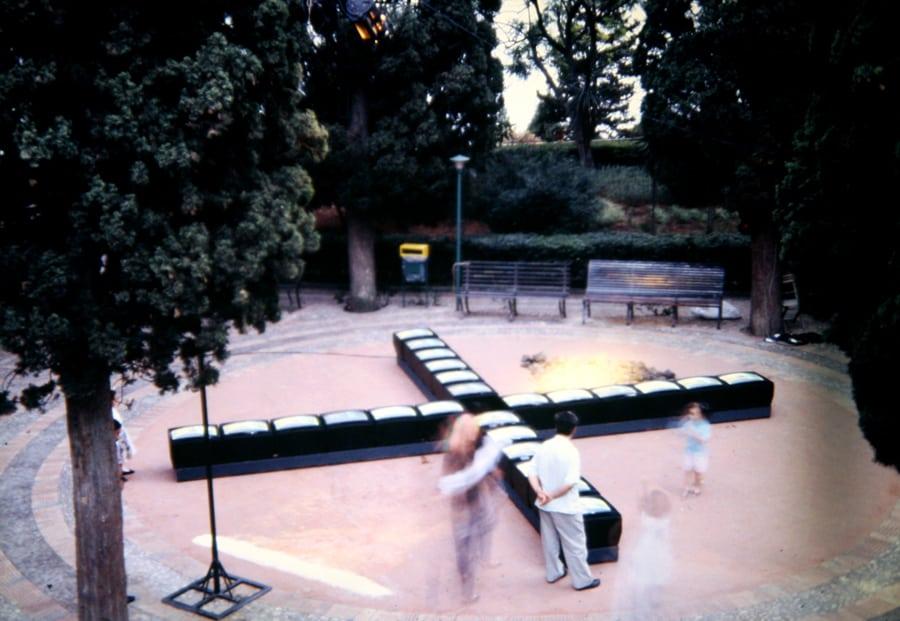 Studio Azzurro. Il segno involato. 1990. Rassegna internazionale del video d'autore. Taormina.