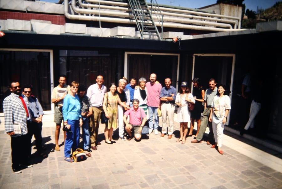 Rassegna internazionale video d'autore. Taormina. 1993. Foto di Enrico Cocuccioni.