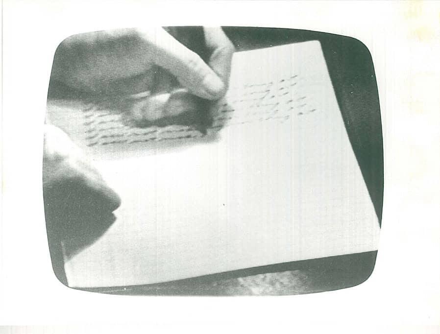 Vito Acconci, Pryings, 1971