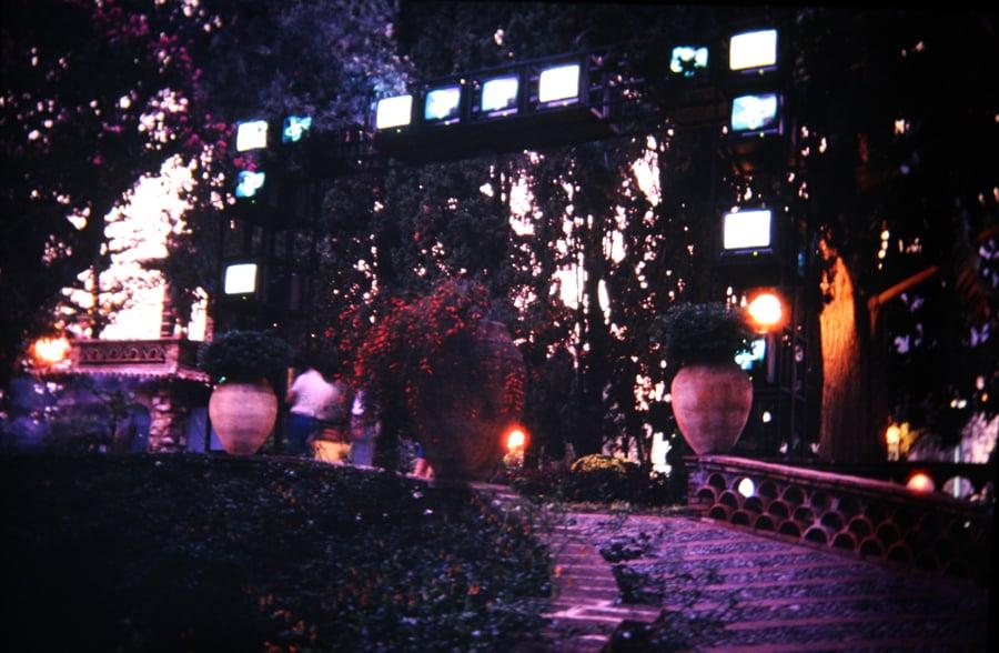 Shigeko Kubota. The culture gate. 1990.
