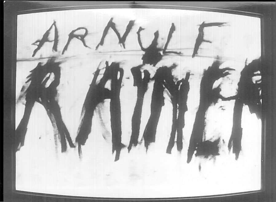 Arnulf Rainer, Mouth Piece, 1974