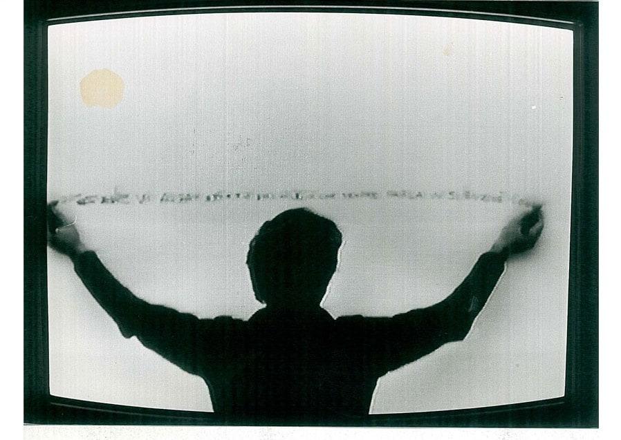 Alighiero Boetti, 1970 in Identifications di Gerry Schum
