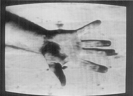 Richard Serra, Hand Catching Lead, 1968